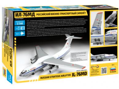 Zvezda - Russian Strategic Airlifter IL-76MD, 1/144, 7011 2