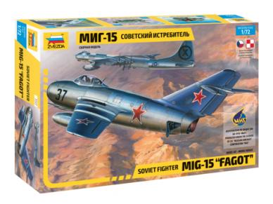 "Zvezda - Soviet fighter Mig-15 ""Fagot"", 1/72, 7317"
