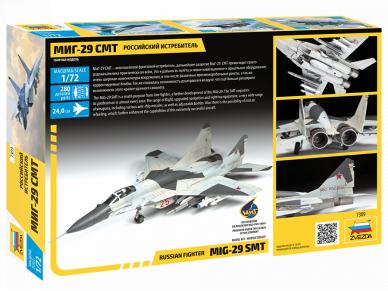 Zvezda -  Russian Fighter MiG-29 SMT, 1/72, 7309 2