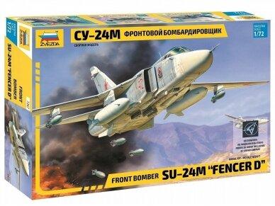 "Zvezda - Front bomber Su-24M ""Fencer D"", Mastelis: 1/72, 7267"