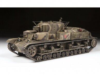 Zvezda - Soviet Medium Tank T-28, Mastelis: 1/35, 3694 2