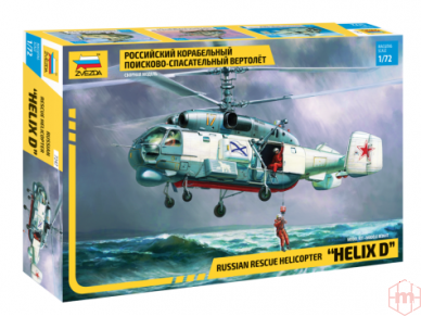 "Zvezda - Russian Rescue Helicopter ""Helix D"", 1/72, 7247"