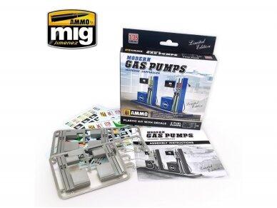 AMMO MIG - MODERN GAS PUMPS Limited Edition, 1/35, 8501 2