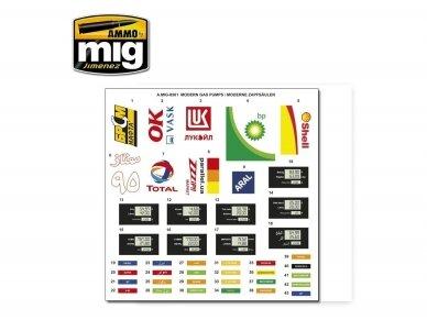 AMMO MIG - MODERN GAS PUMPS Limited Edition, 1/35, 8501 4