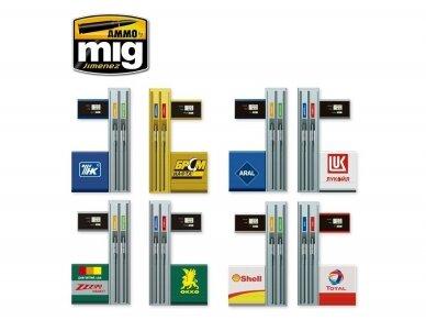 AMMO MIG - MODERN GAS PUMPS Limited Edition, 1/35, 8501 3