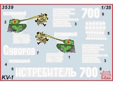 Zvezda - Soviet Heavy Tank KV-1, Scale: 1/35, 3539 2