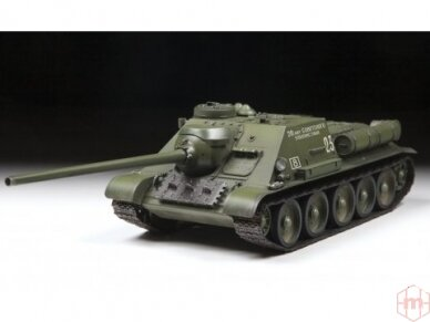 Zvezda - Soviet Tank Destroyer SU-100, Mastelis: 1/35, 3688 2
