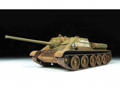 Zvezda - Soviet Tank Destroyer SU-85, Mastelis: 1/35, 3690 2