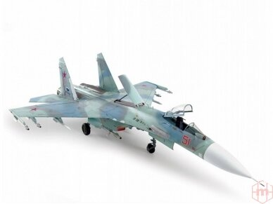 Zvezda - Russian Air Superiority Fighter Su-27SM, Mastelis: 1/72, 7295 3