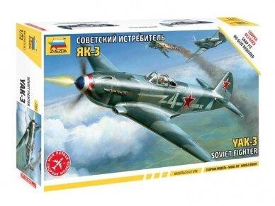 Zvezda - Soviet fighter Yak-3, 1/72, 7301