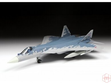 Zvezda - Su-57, Mastelis: 1/72, 7319 4