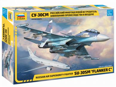 Zvezda - Sukhoi Su-30SM 'Flanker-C', Mastelis: 1/72, 7314