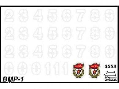 Zvezda - BMP-1, Mastelis: 1/35, 3553 2